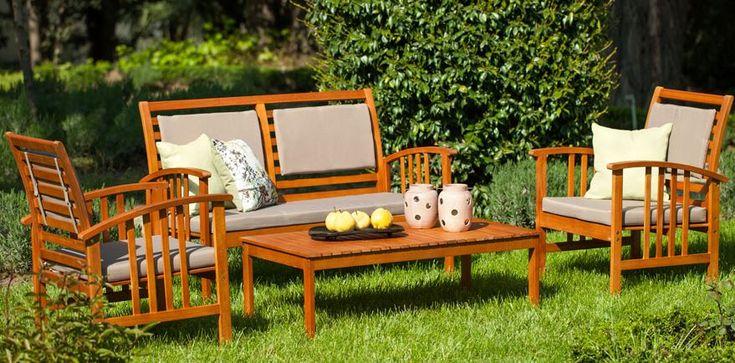 Bahçe mobilyalarında en çok karşımıza çıkan detay ahşaptır. Hem sağlık açısından hem hoş görüntü açısından siz de bu tarzda tercih edebilirsiniz.