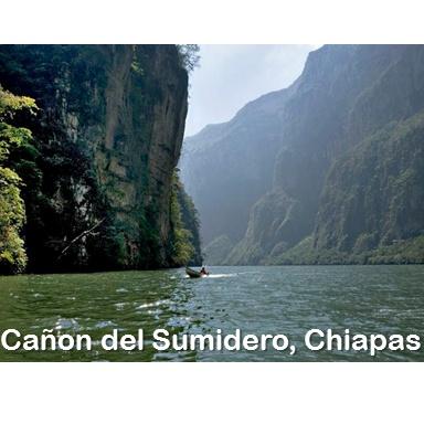 Canon del Sumidero, Chiapas.