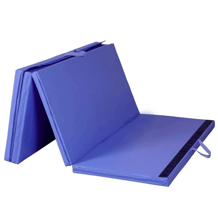"5th Season 2"" Thick Gymnastics Tumbling Exercise Folding Martial Arts Mats with Hook and Loop Fasteners on 2 Sides Crosslink PE Foam Core (E)"