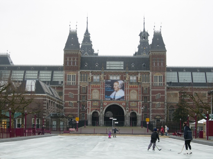 Rijksmuseum, Amsterdam, Netherlands, February 2007