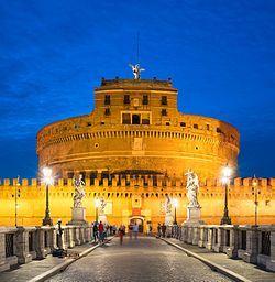 Castel Sant'Angelo Wikipedia Rome, Castle, France travel