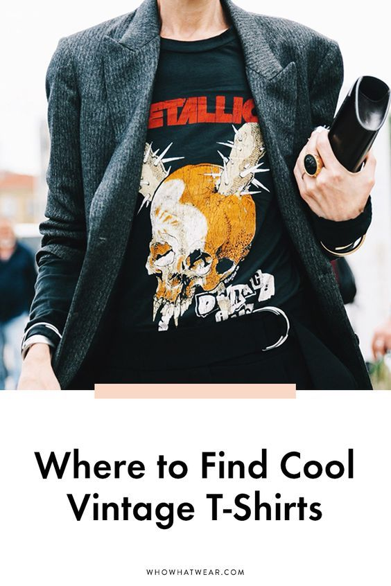 Finding the perfect vintage tee is like hitting the jackpot—you know you're going to wear it with everything. Here's where fashion girls find the perfect tees they live in.