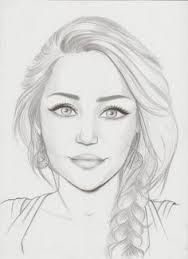 Image result for simple pencil sketches of faces step by step
