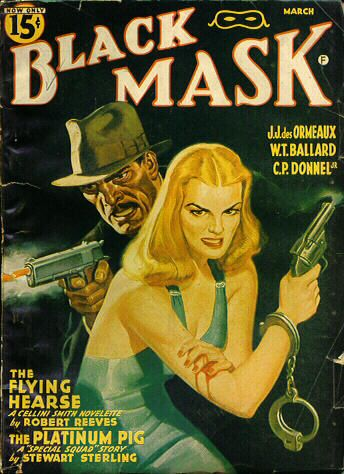 Black Mask magazine cover from1941.