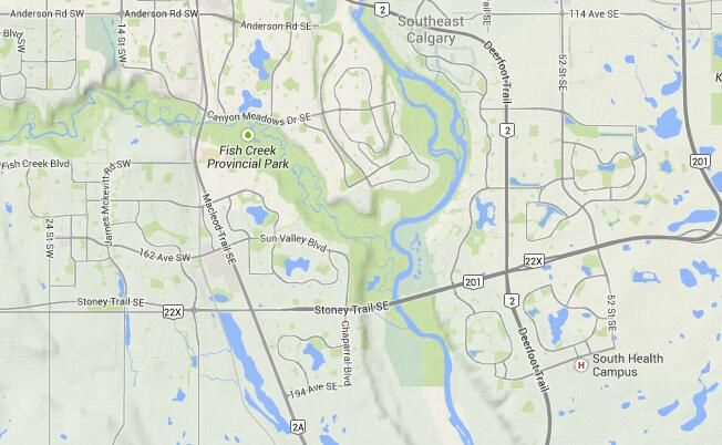 Fish Creek - Information & Facilities - Maps & Directions #YYC #yycre