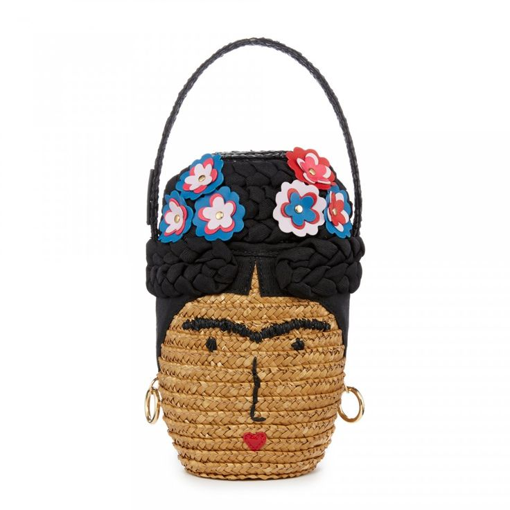 Before spring had officially sprung, I came across this image of a Frida  Kahlo basket bag from the 2015 summer collection of Lulu Guinness: and if I  had ...