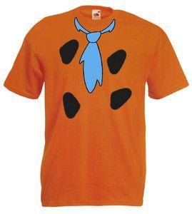 £9.99 #Fred #Flinstone #Mens #Tshirt Size M/L/XL/XXL/3XL #Fancy Dress #Yabba Dabba Do - Worlwide Delivery