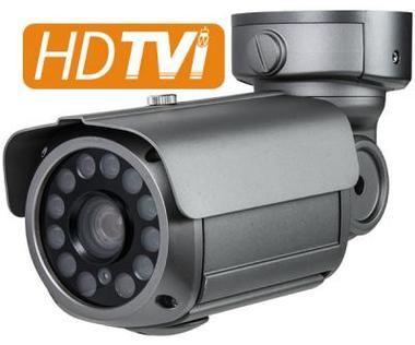 HD-TVI 1080p (2MP) IR Bullet Camera w/ 6~50mm Auto-Iris Vari-Focal Lens & 12COB IR LEDs