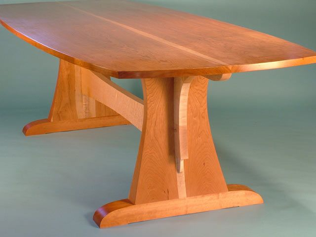 Unity Trestle Table   This Large Table Design Has Proven Itself To Be Most  Popular. And Why Not? It Has A Grace And Proportional Balance That Is Unu2026