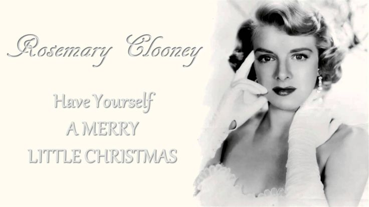 [Video] Rosemary Clooney ~ The Greatest Christmas Classics [Full Album]