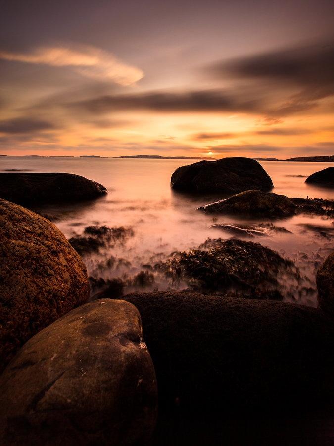 sunset by Patric Bergkvist, Lysekil, Sweden