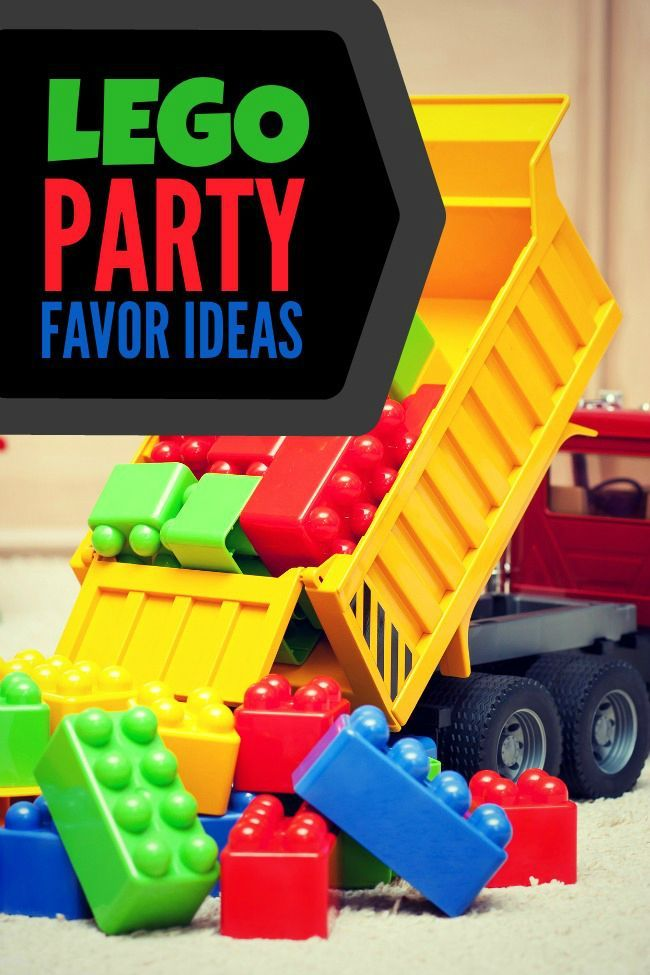 Great Lego Party Favor Ideas