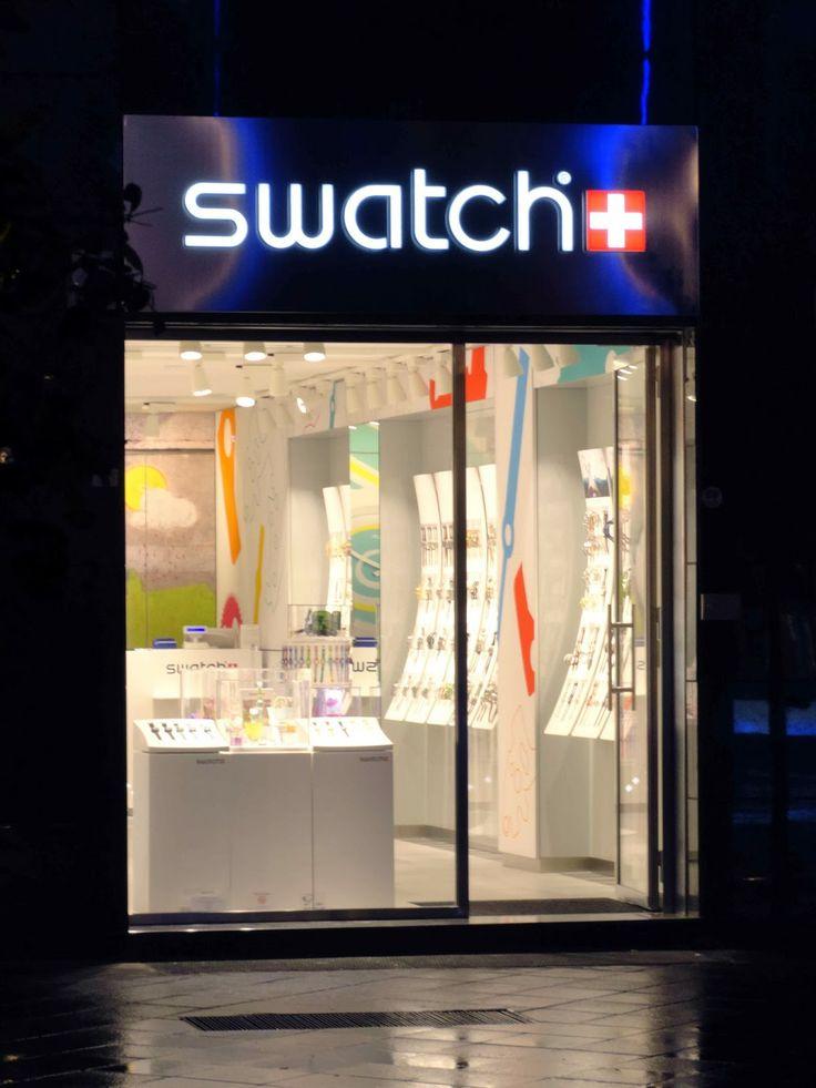 Fantechnology: Si rinnova lo Swatch Store di Salerno