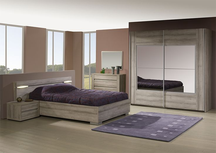 25 best ideas about chambre complete on pinterest une for Meubles chambre a coucher contemporaine