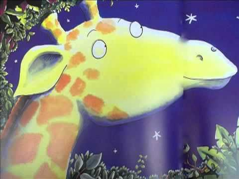 Giraffes Can't Dance- narrated story.  Good lesson for not giving up.