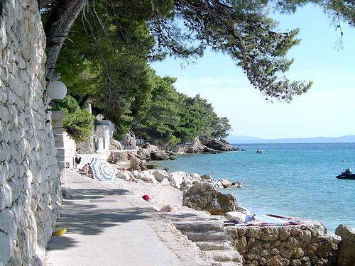 Brela, Croatia.  Gorgeous.
