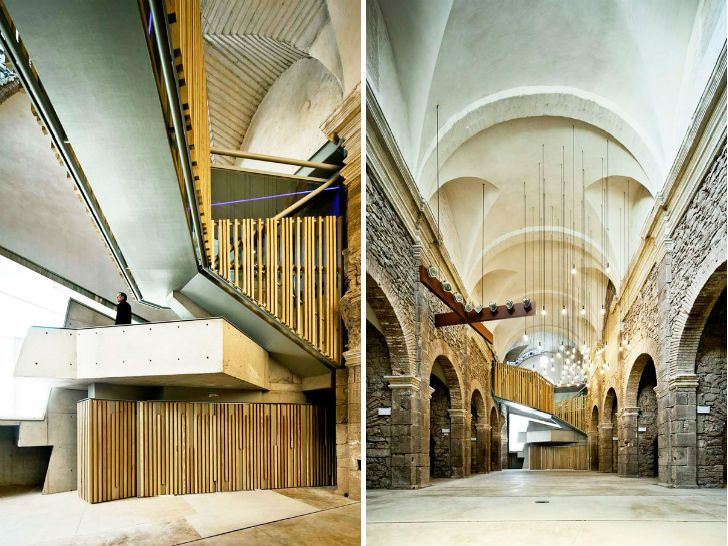 Spain's Crumbling Sant Francesc Church Gets a Modern Renovation by David Closes | Inhabitat - Sustainable Design Innovation, Eco Architecture, Green Building