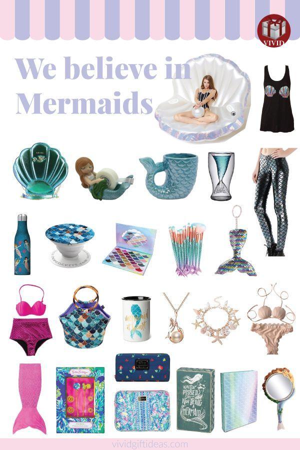 Mermaid Gifts For Girls Adults 30 Cute Gift Ideas Mermaid