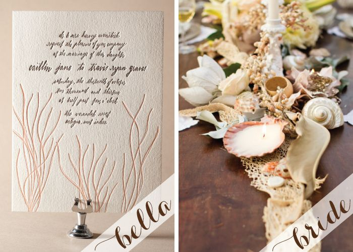 Maybelle S Hand Calligraphed Antigua Letterpress Wedding