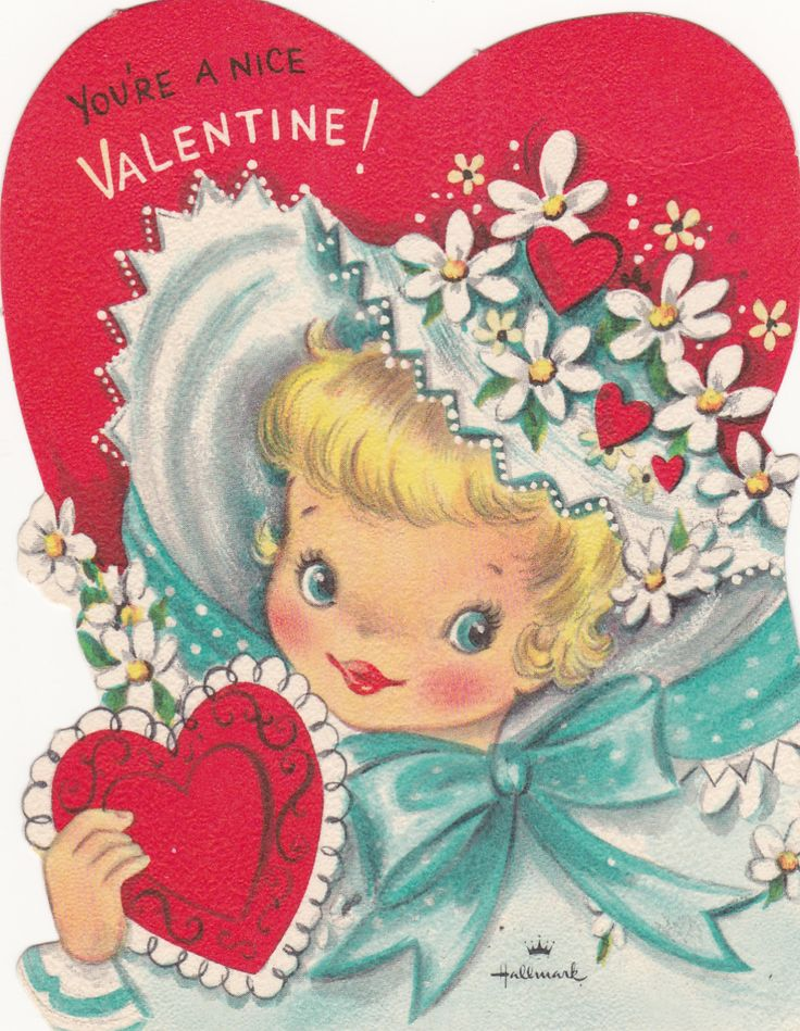 1165 best images about Vintage Cards and Valentines – Nice Valentines Cards