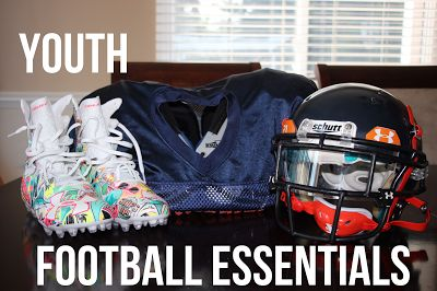 Confessions of a Sports Mama: Sports Mama Tip: Youth Football Player Essentials