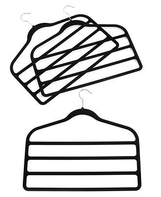 Neatfreak Pant Hangers, 3 Pack Felt 4 Tiered Clothes Hangers - Cleaning & Organizing - for the home - Macy's