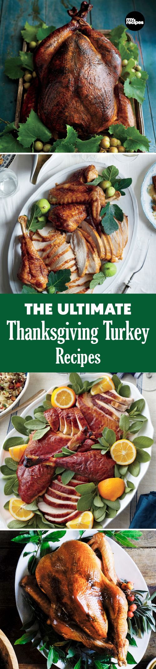 The Ultimate Thanksgiving Turkey Recipes | MyRecipes  However you like your turkey, make it the centerpiece of the table this year.