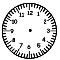 Several Free Clock Face Printables