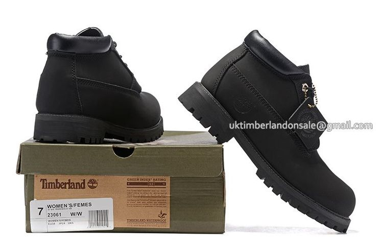 Timberland Chukka Boots For Men - All Black $80.00