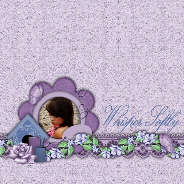 This layout was made with Whisper Softly Kit by Country Style Designs you can find the kit  http://www.countrystyledesigns.com/store/