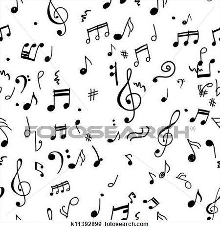 astratto, musicale, modello, per, tuo, disegno Visualizza illustrazione ingrandita