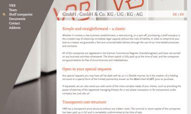 Screenshot website (FF Scala Web and FF Scala Sans Web)