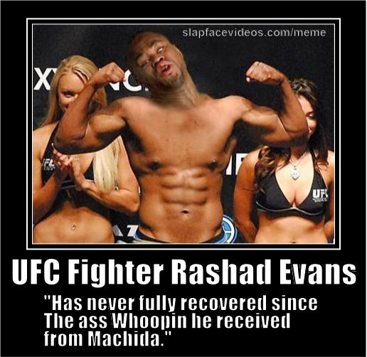 8 Years Ago Today Lyoto Machida Knocked Out Rashad Evans And Shad