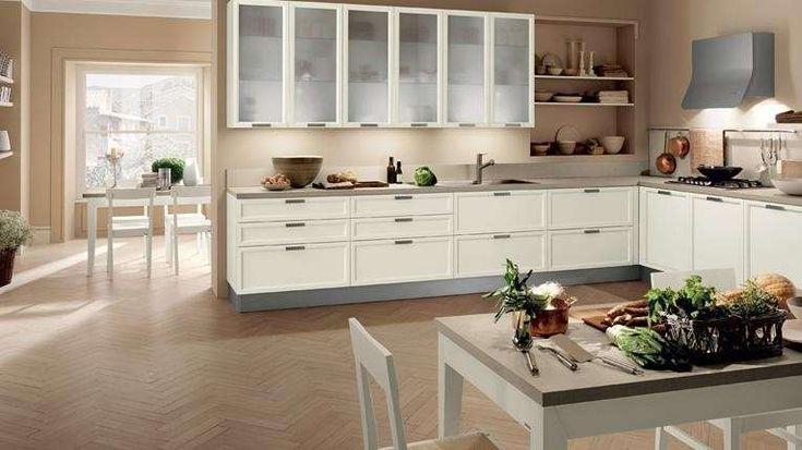Idee colore pareti cucina - Pareti color crema
