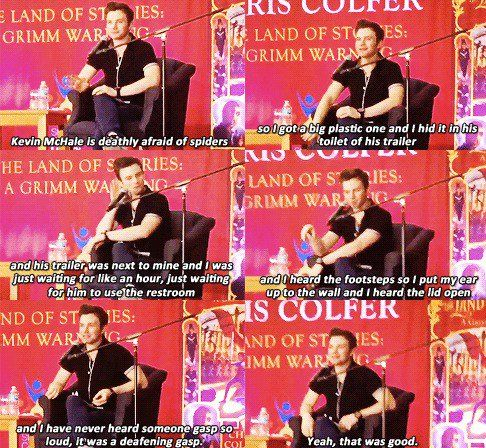 Chris Colfer and Kevin McHale