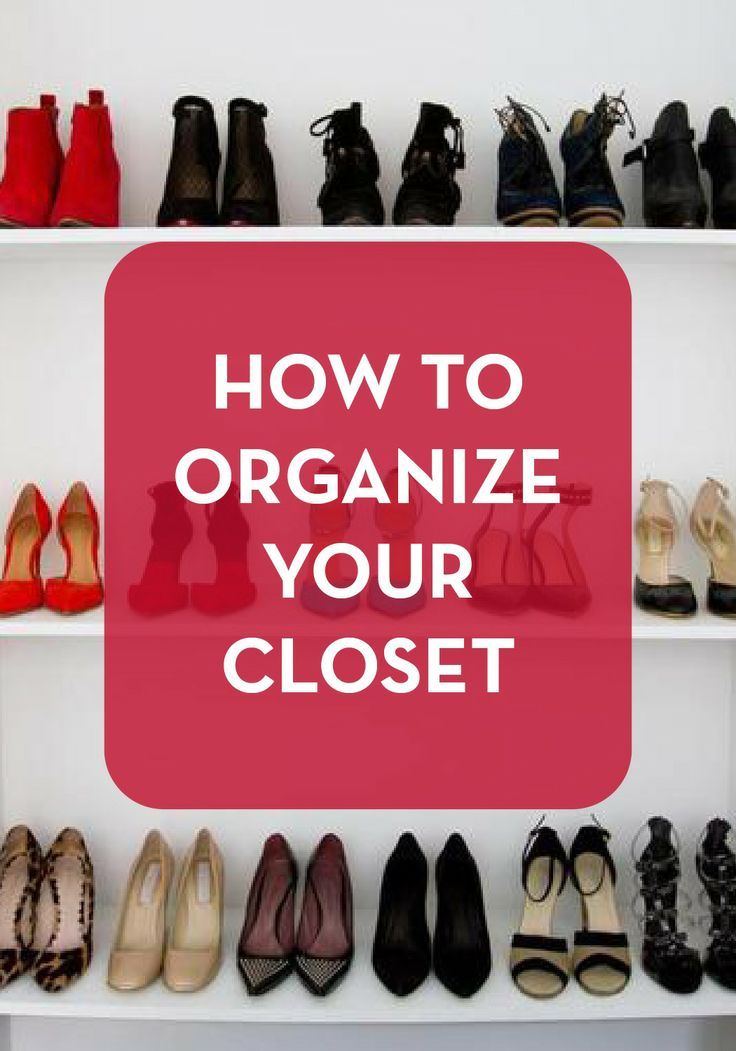 10 Best Images About Organizing Your Clothes On Pinterest