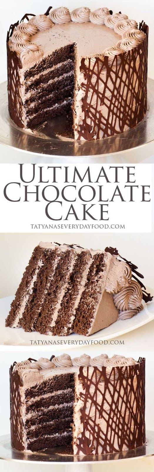 Ultimate Chocolate Cake | Food And Cake Recipes