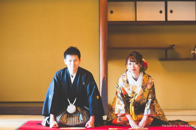 【大阪】洋髪花嫁の結婚式の和装前撮り | 結婚式の写真撮影 ウェディングカメラマン寺川昌宏(ブライダルフォト)