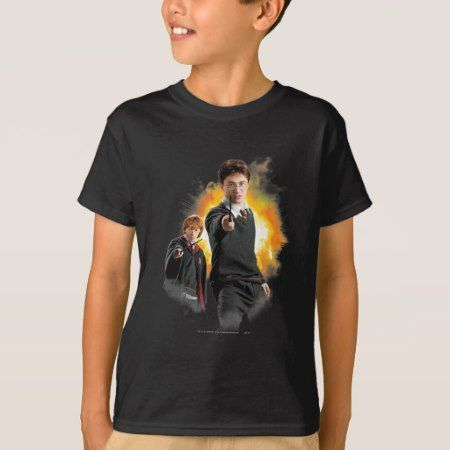 Harry Potter and Ron Weasely T-Shirt - tap to personalize and get yours
