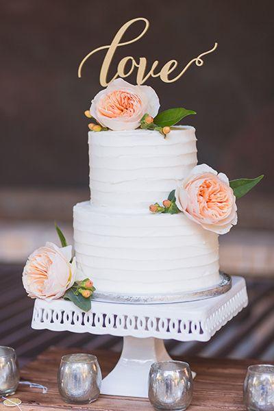30 Small Wedding Cakes With Big Impact Cake Wedding Small