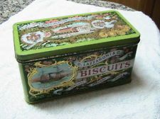 Antique rare biscuits D.Lazzaroni & C. Milano Saronno Monza made Italy tin box