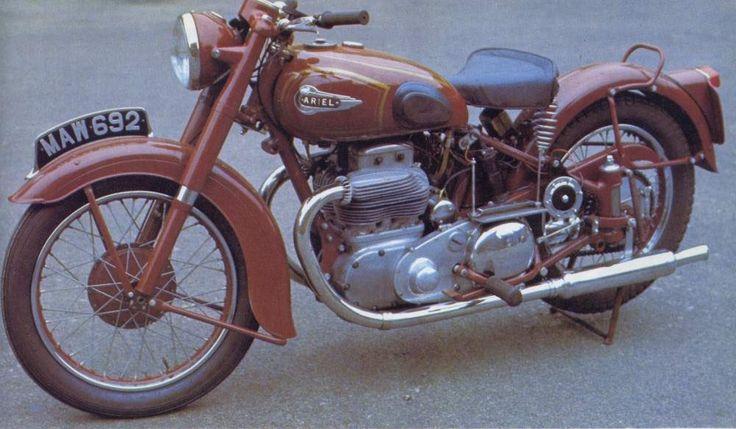 Square Four 1000, 1949-1958