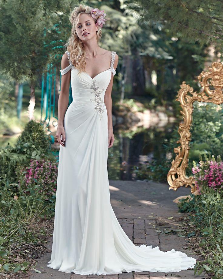 Saxton (Robes de mariée). Créateur: Maggie Sottero. ... Plus