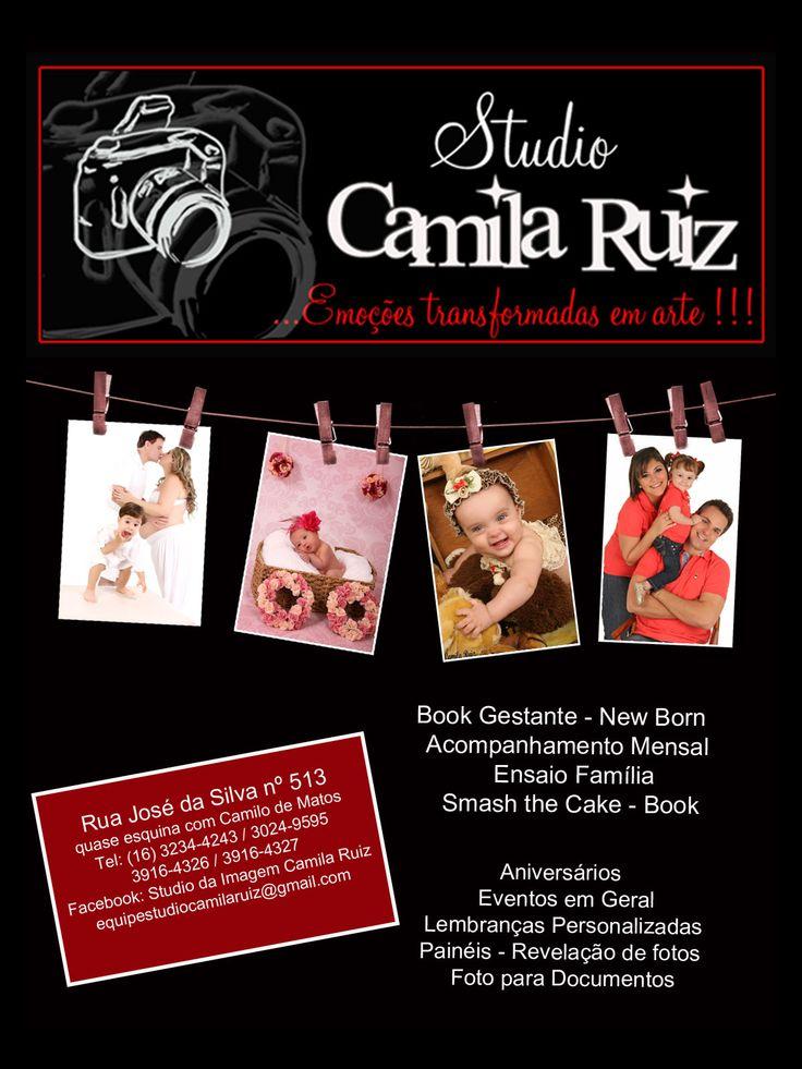 Estúdio de Fotografia em Ribeirão Preto, SP | Studio Camila Ruiz