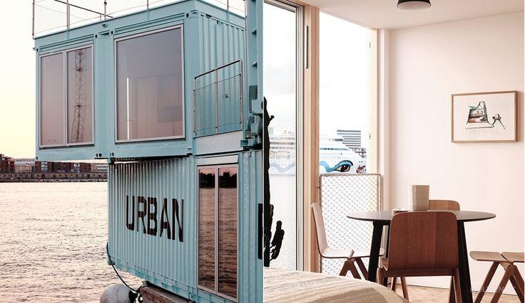 Cool container: Nye studieboliger flyder på vandet - billede 3