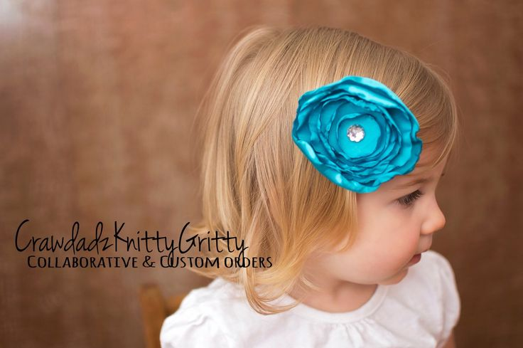 Hair Bow, Hairbow, Flower Bow, Blue Bow, Baby Bows, Handmade Bow, Upcycled, Upcycle, Repurposed, Fancy Bow, Hair Accessories, Christmas Bow by CrawdadzKnittyGritty on Etsy https://www.etsy.com/listing/288331569/hair-bow-hairbow-flower-bow-blue-bow