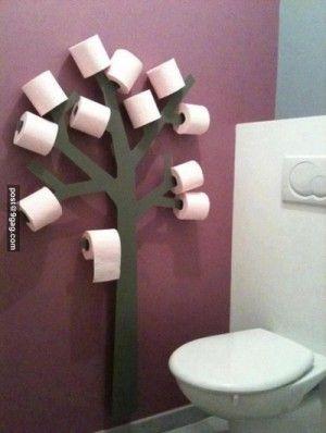 maak zelf een toiletrolboom
