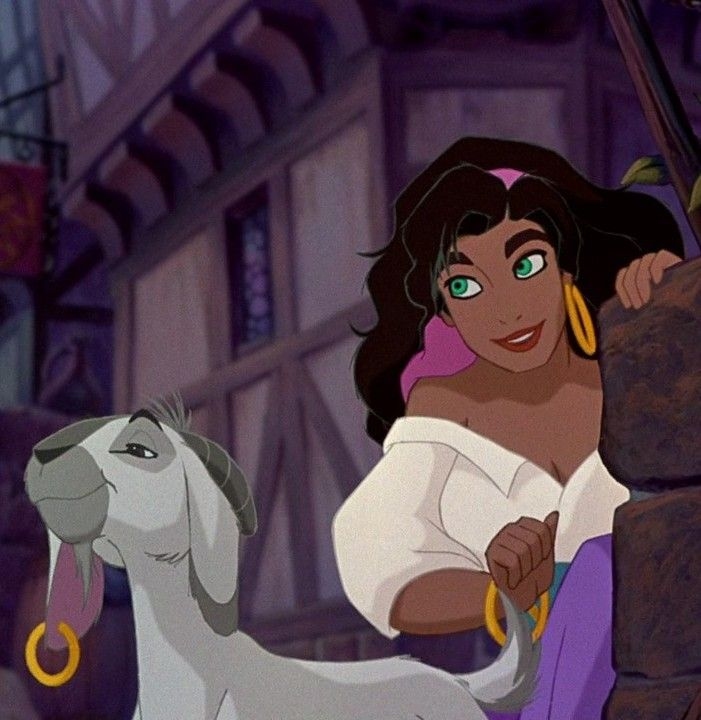 Djali & Esmeralda from The Hunchback of the Notre Dame, Disney