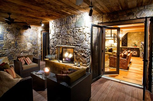 Very Nice Outdoor Fireplace Outdoor Pinterest Outdoor Fireplaces Just Me And Outdoor Living