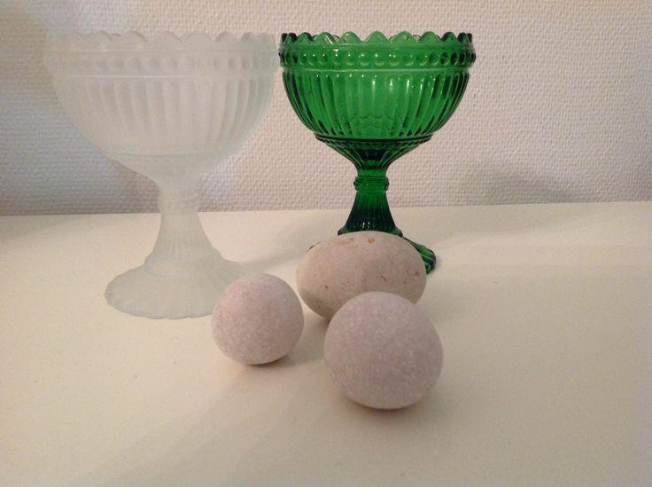 A green vase